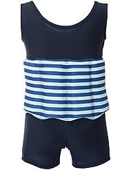 Juleya Badeanzug Schwimmhilfe für Kinder mit Schwimmbojen Bojenanzüge Mädchen im Sommer