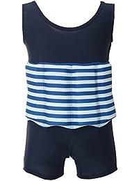 Juleya Niños gratis aprender a nadar flotador ajustable Traje de protección solar UV traje de baño para niños en verano
