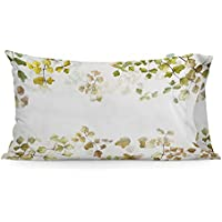 HF LIVING Leaves Funda Almohada 50x75 (2 UD)