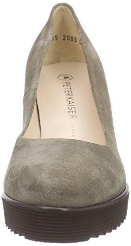 Peter Kaiser Finna, Chaussures à talons avec plateau femme Beige - Beige (TAUPE SIGA 317)