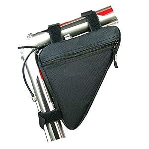 41ucytb9meL. SS300 1PC deposito di biciclette Borsa Triangolo Saddle Telaio Strap-on Pouch in bicicletta anteriore borse sella kit telaio…