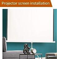 Projector Screen Installation