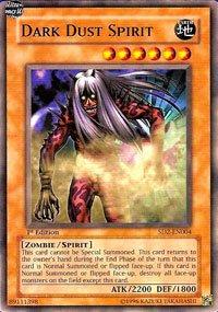 YuGiOh Zombie Madness Structure Deck Dark Dust Spirit SD2-EN004 Common [Toy]