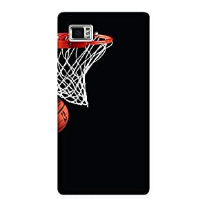 Gorgeous Basket Ball Multicolor Back Case Cover for Vibe Z2 Pro K920