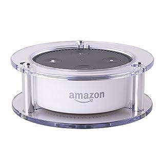 holaca stabile Acryl Lautsprecher Ständer Guard Halterung Wandhalterung für Amazon Echo Dot 2nd Generation