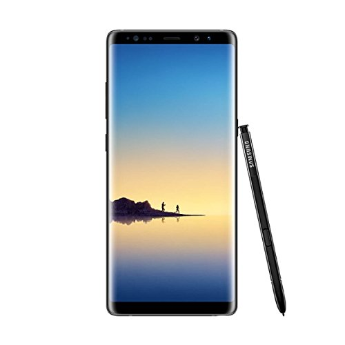 Samsung Galaxy Note8 - Smartphone libre de 6.3' (Android , 4G, WiFi, Bluetooth, Exynos 8895 Octacore 2.3 GHz + 1.7 GHz, 6 GB de RAM, cámara dual de 12 MP, single-SIM, 64 GB) [Versión europea] negro