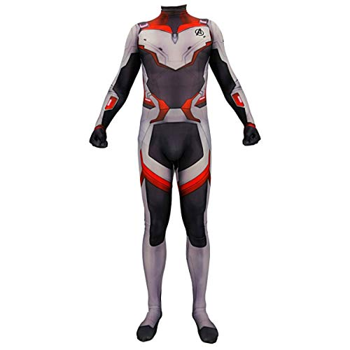 QQWE The Avengers 4 Quantum Warfare Cosplay Kostüm Kinder Erwachsene Kostüm Bodysuit Jumpsuits Weihnachten Halloween Stage Performance Clothe,Children-XXL (Für Erwachsene Warfare Kostüm)