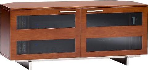 Bdi Avion 8925 Premium Corner AV Cabinet for TV - Cherry
