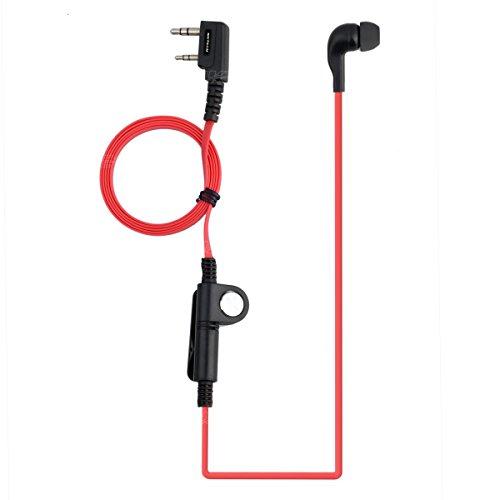 nktech tipo K de 2pines auricular auricular con micrófono para Baofeng UV-5R...