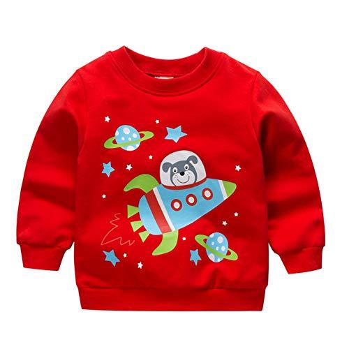 Langarm-Pullover Kinder Jacken Top Kinder Kostüme Cartoon gedruckt (Jacke Kinder Kostüm)