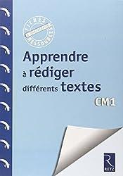 Apprendre à rédiger différents textes