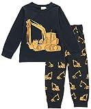 Tarkis Jungen Pyjama Schlafanzüge Lange Zweiteiliger Schlafanzug, 1, 98 (Herstellergröße: 100)