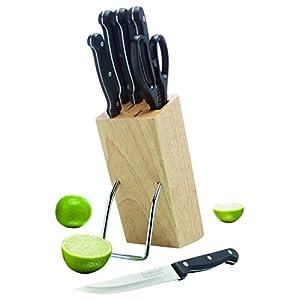 41ud4bUoO2L. SS300 Kitchen Craft-Set di 6 coltelli con Coltello Block-in Legno, in Confezione Regalo