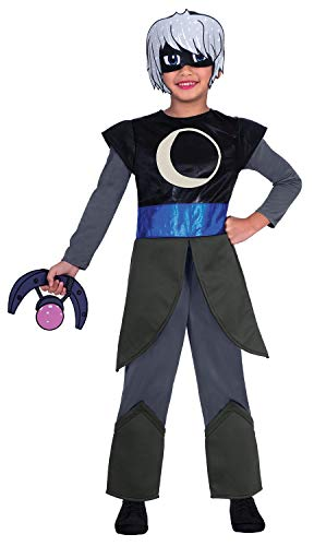 Bösewichte Kostüm Disney - Fancy Me PJ Masks Luna Mädchen Disney Anti Hero Nacht Bösewichte TV-Shows Charakter Kostüm Outfit