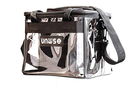 uniwise Wise-Bag: Tasche für Gesetze und Kommentare: Schönfelder, Sartorius, Ziegler/Tremel, Palandt etc; Jura, Steuerrecht Tragetasche/Umhängetasche (transparent)