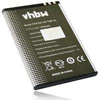 Batería compatible con NOKIA E61i / E71 / E90 / N810 / N97 / E63 / E52 / E 52 61i 63 71 90 97 i N 810 sustituye batería Nokia BP-4L
