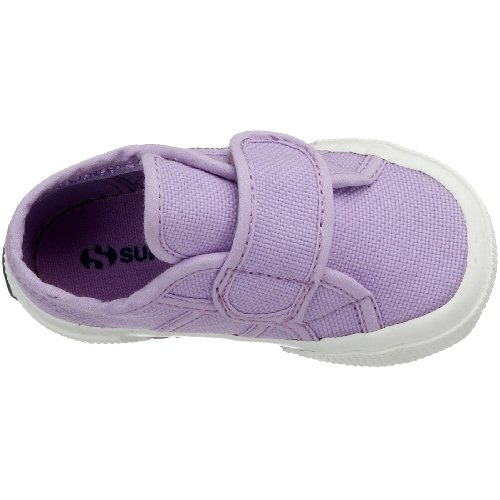 Superga 2750 Bvel, Chaussures Premiers pas mixte bébé, Bleu (933 Navy), 20 EU Violett/431 Lilla