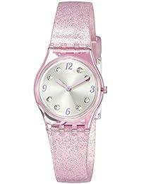 Swatch Orologio Analogico Quarzo Donna con Cinturino in Silicone LP132C 7d46e469127