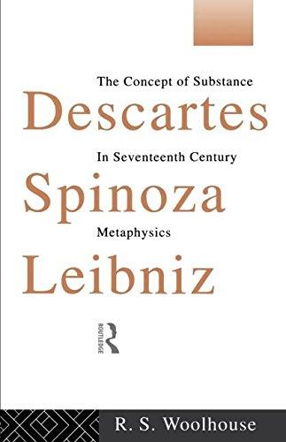 Descartes, Spinoza, Leibniz: The Concept of Substance in Seventeenth Century Metaphysics por R. S. Woolhouse