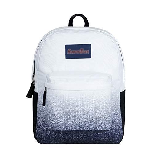 Grund- und Mittelschule Schultasche Casual Rucksack Schultasche Travel Daypack Bookbags for Jungen/Mädchen Studenten PNYGJIBB (Color : A, Size : 42 * 17 * 32cm) (Bookbags Jansport Für Jungen)