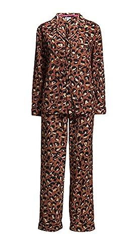 DKNY Cozy Schlafanzug Set–Nightshade Animal Gr. xs, BROWN ANIMAL PRINT (Dkny Lingerie)