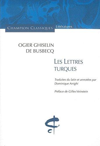 Les Lettres turques