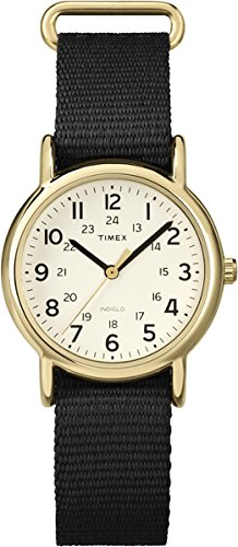 timex-womens-t2p476-quartz-watch-with-beige-dial-analogue-display-and-black-nylon-strap