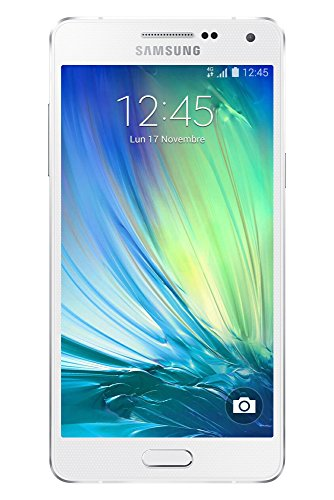 "Samsung Galaxy A5 - Smartphone libre Android (pantalla 5"", cámara 13 Mp, 16 GB, Quad-Core 1.2 GHz, 2 GB RAM), blanco (importado)"