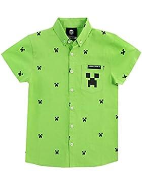 Minecraft Camisa para niño Creeper