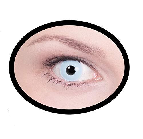 Maskworld SMI416280(2) Kontaktlinsen/Tageslinsen, Unisex- Erwachsene, blau