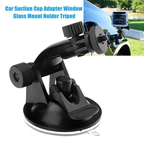 NAttnJf Universal drehbare Auto Saugnapf Adapter Fensterglas Halterung Ständer Stativ für Gopro Hero 4 3 2 HD
