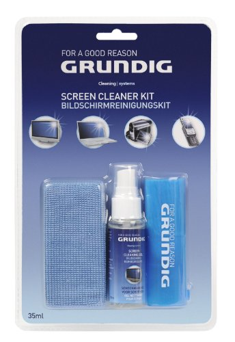 Price comparison product image Grundig Antystatic Screen Cleaner Kit for LCD TV/Plasma/Glass/Laptop/Mobile Phone