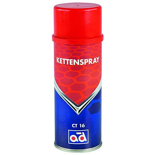 AD Chemie Kettenspray CT16 400ml Spraydose Spezialschmierstoff für Ketten Gelenkverbindungen Scharniere Kettenöl Öl Oil 406067410