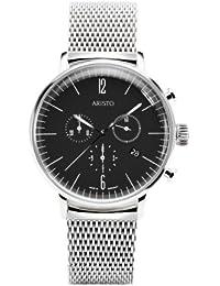 Aristo 4H151M - Reloj , correa de acero inoxidable color plateado