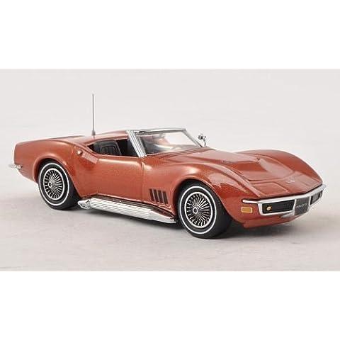 Chevrolet Corvette C3 Convertible, bronze , 1968, Model Car, Ready-made, Vitesse 1:43 by Chevrolet