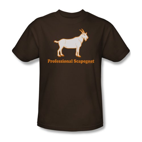 Scapegoat Professional-Maglietta da uomo Marrone