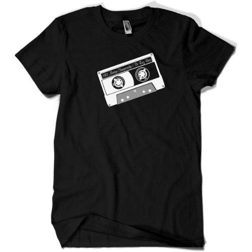80s MIXTAPE - 80er Jahre Klamotten - T-Shirt schwarz Gr. S