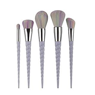 Autumnfall Make Up Foundation Eyebrow Eyeliner Blush Cosmetic Concealer Brushes (5Pcs - 1)