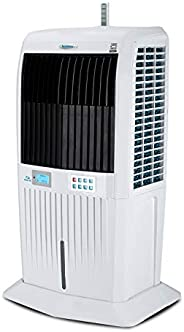 Symphony Storm 70i Desert Tower Air Cooler 70-litres, with Remote, 3-Side Honeycomb Pads, LCD Control Panel, P
