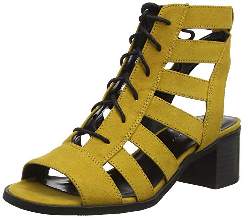 New Look Palmed, Sandali Punta Aperta Donna, Giallo (Dark Yellow 87), 37 EU