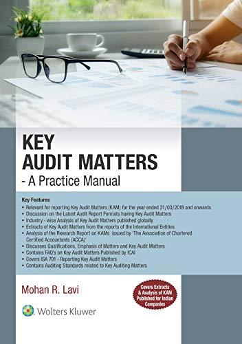 Key Audit Matters- A Practice Manual