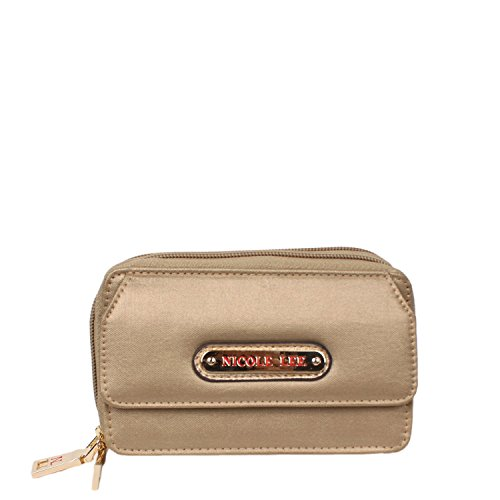 nicole-lee-lola-crinkled-nylon-cross-body-wallet-gold