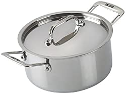 ALDA Tri Ply Stainless Steel Casserole Cookware 1.5L