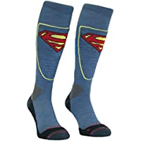 SockMine Unisex Lightweight Superman Cycling Socks with Moisture Wicking Coolmax Technology
