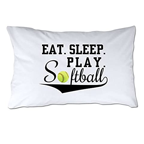4 Wooden Shoes 4WS-1-070 Eat Sleep Play Softball