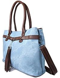 Leder Jeans Tasche Henkeltasche Handtasche 9138