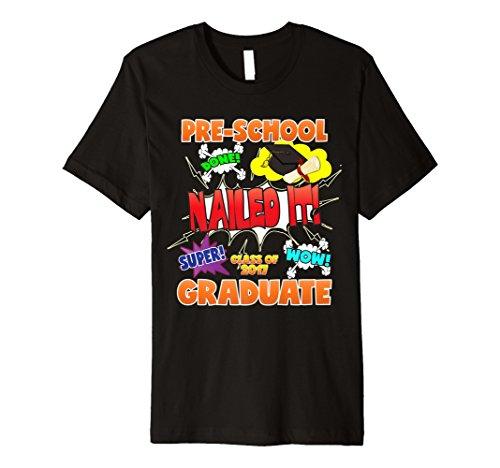 2017Vorschule Graduation Shirt genagelt ES Gap Gewand