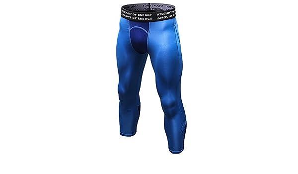 HOPLYNN Schnelltrocknende Laufhose Kompressionshose Herren Sport Leggings Atmungsaktiv Fitness Strumpfhosen Funktionsw/äsche Pants