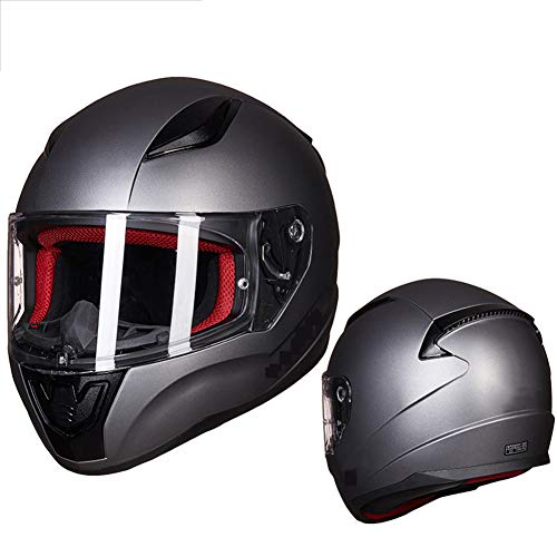 Casco-Moto-Modulare-Flip-Up-Completo-Viso-Casco-Hd-Anti-nebbia-Visiera-Locomotiva-Racing-Casco