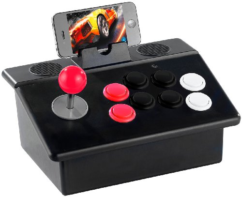 Callstel Retro-Game-Pad: Gaming-Controller für iPod, iPhone und iPad mit Bluetooth (iPhone-Gamepad)